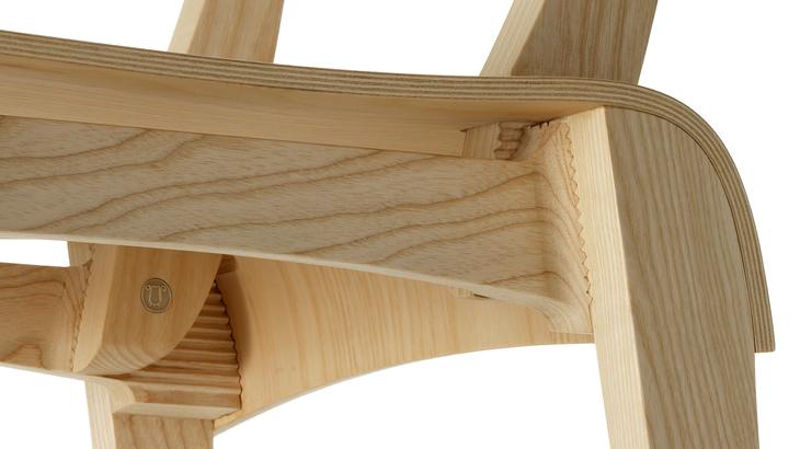Sedia oscarina tobia scarpa terre di atanor for Tavolo legno frassino