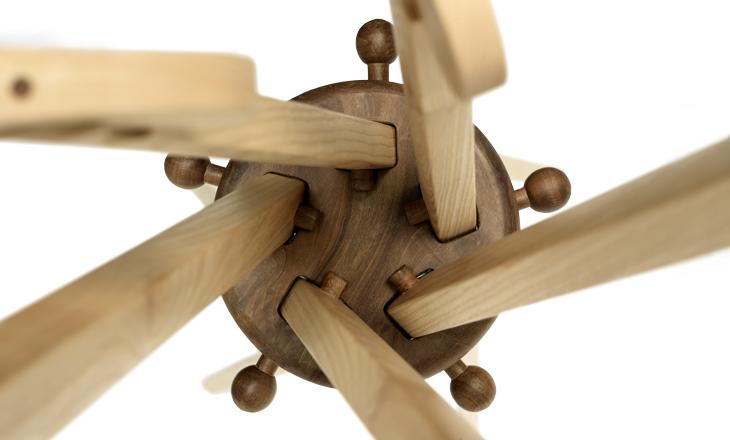 Un ceppo di legno diventa un oggetto di design casafacile