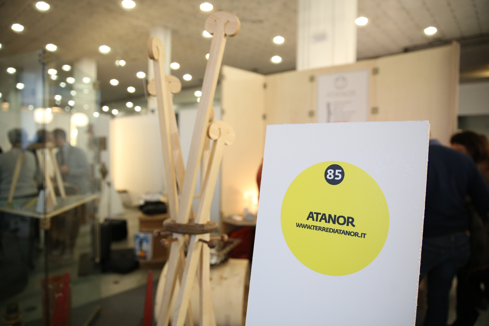 Installazione di Atanor all'Open Design Italia 2013